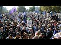 People's Vote march – watch live