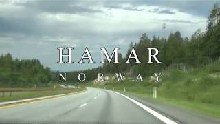 Hamar, Norway - On the road with drone - DJI Mavic 2 Pro