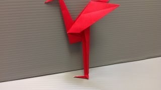 Daily Origami: 137 - Heron
