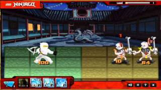 Lego Ninjago- Spinjitsu Smash- Online Game