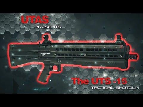 Тактический дробовик UTAS UTS-15