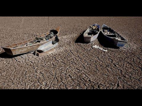 Oficialmente está muerto el Lago Poopó de Bolivia