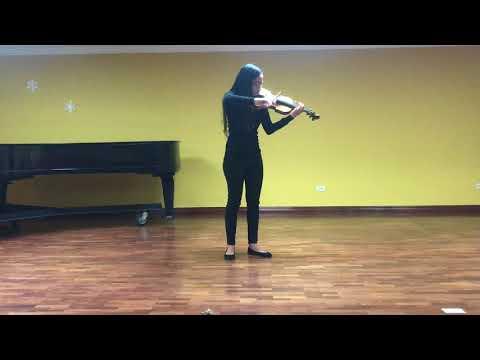 Pamela Muñoz – Violín – YOA Audición 2018