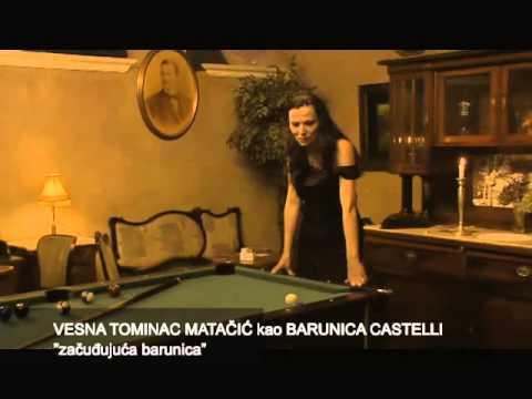 Adaptacija Glembajevih s tri glumca: Vesna Tominac Mata�i� - barunica Castelli, Andrej Dojki� - Leone Glembaj, Žarko Savi� - Ignjat Glembaj.
