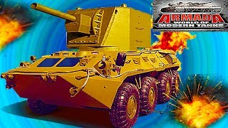 ARMADA WORLD OF MODERN TANKS #22 Мульт танки Онлайн игра Боевые машинки.Бои танков Видео для детей