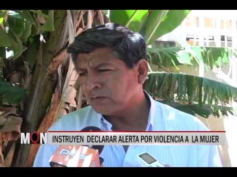 28/11/2014-18:50 INSTRUYEN  DECLARAR ALERTA POR VIOLENCIA A  LA MUJER