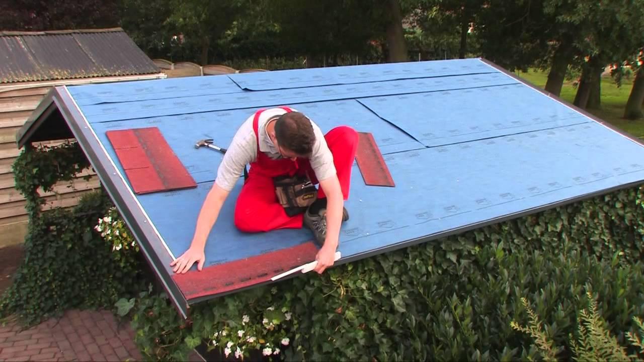 Fai da te come posare le tegole canadesi easy shingle for Montaggio tetto in legno ventilato