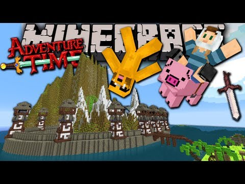 Minecraft: Adventure Time with Jake The Lost Potato Ep.3 Extreme Pig Perils