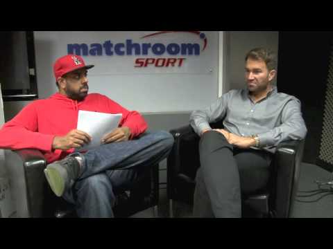 EDDIE HEARN Q & A (WITH KUGAN CASSIUS) - PART ONE (INC. o2 TICKET-GIVEAWAY) / iFL TV / SEPT 30th '14