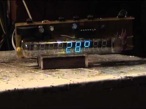 VFD IV-18 clock