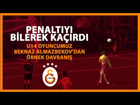 U14 oyuncumuz Beknaz Almazbekov'dan örnek davranış 👏