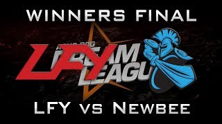 Newbee vs LFY Winners Final DreamLeague 2017 CN Major Highlights Dota 2