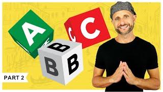 ITALIAN ALPHABET: How to spell words in Italian  [Video 2 of 3]