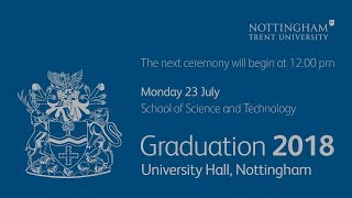 NTU Graduation 2018 Ceremony 18: School of Science and Technology, 12 pm
