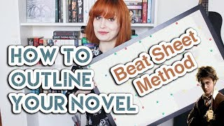 How To Outline Your Novel: The Beat Sheet Method | Iasmina Edina
