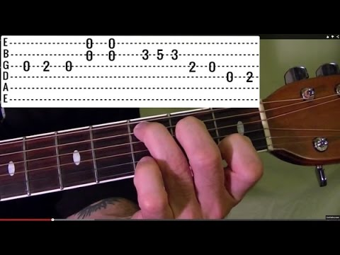 DUST IN THE WIND - Kansas - Guitar Lesson
