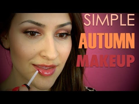 Simple Autumn/Thanksgiving Makeup