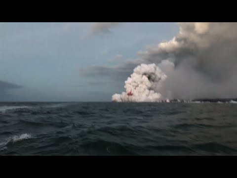 Airborne Lava Injures 23 On Boat in Hawaii