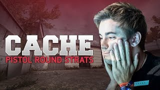 Cache Pistol Round Strats used by Pro Teams (CS:GO)