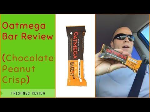 Oatmega Bar Review: Chocolate Peanut Crisp by Boundless Nutrition
