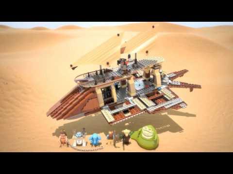 Lego Star Wars 75020 Лего Звездные Войны Пустынный корабль Джаббы- Детки Тойс