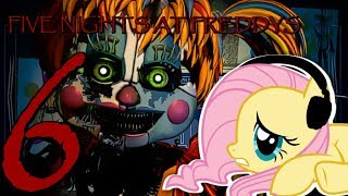Fluttershy plays Five Nights at Freddy's 6?! | Pizzeria Simulator 🍉 | Part 1