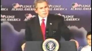 "George Bush's ""Fool Me Once"" Gaffe"