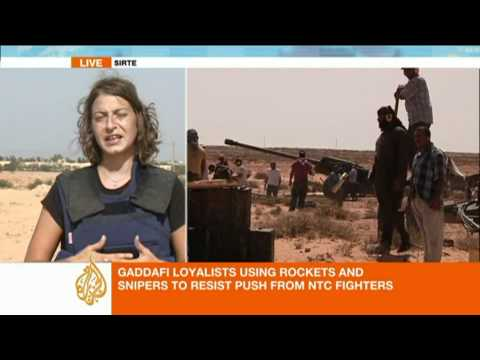 Zeina Khodr reports from outside Sirte