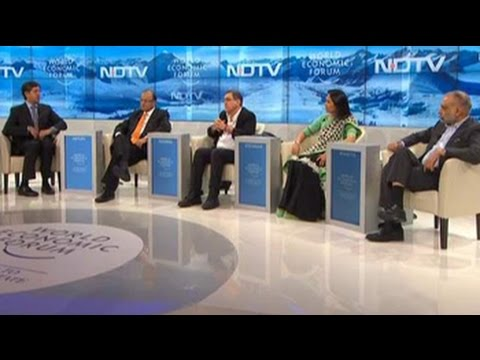 India's next decade at the World Economic Forum debate