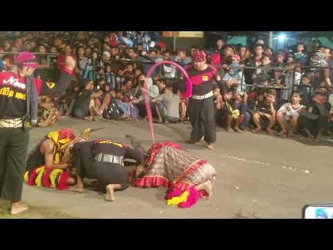 Adegan Bantengan Di Cut - Gara Gara Tidak Kondusif - New Satrio Mudo Ngepung Patianrowo