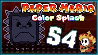 PAPER MARIO: COLOR SPLASH Part 54: Steinschlag stoppt Abendrot-Express