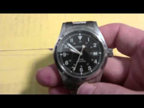 Hamilton khaki automatic wrist watches