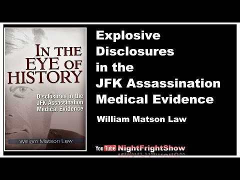 JFK history documentary video William Law Night Fright Show