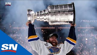 Gloria the Blues have got your number, 1st Stanley Cup