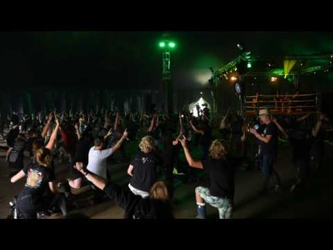 Metal Yoga @ Wacken Open Air 2017  (part 1)