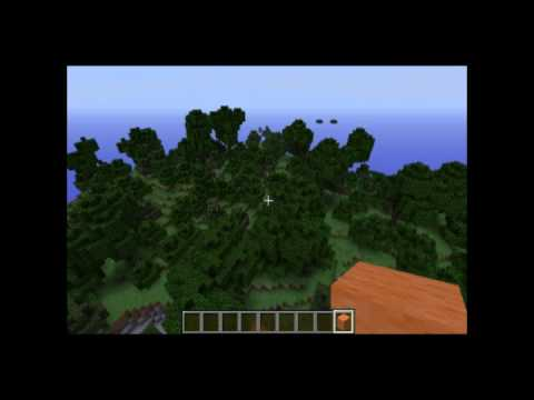 Minecraft forest ravine seed 1.6.1 - 1.6.2, taiga nearby too