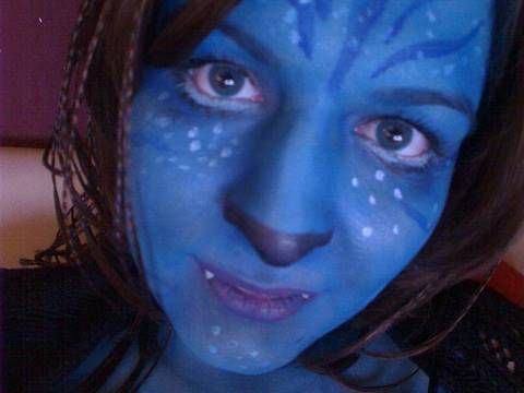 Karneval - Avatar Make up