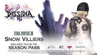 DISSIDIA FINAL FANTASY NT – Snow Villiers Joins the Fight