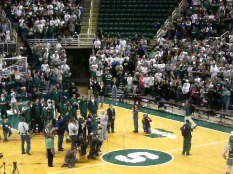 Michigan State Spartans Basketball Welcome Back Party Video