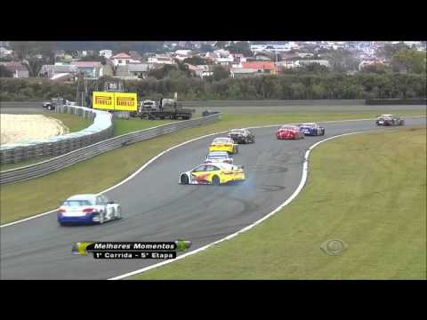 Bonilha Hard Crash @ 2014 Copa Marcas Curitiba Race 1
