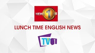 News 1st English Lunch Time Bulletin