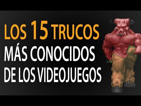 Los 15 trucos MÁS CONOCIDOS de los videojuegos!