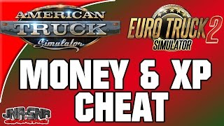 American Truck Simulator and Euro Truck Simulator 2 Money and XP cheat