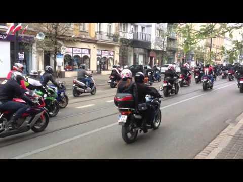 Wielkie otwarcie sezonu motocyklowego w Bydgoszczy 2016