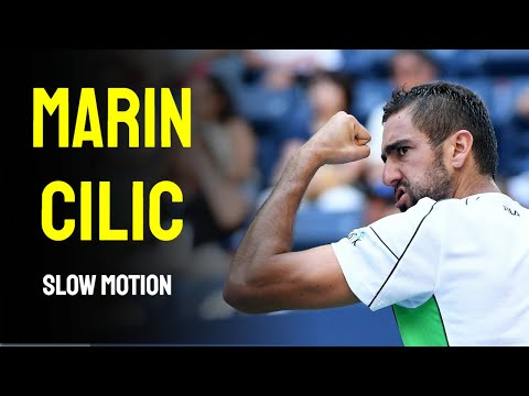 Marin Cilic Slow Motion Compilation
