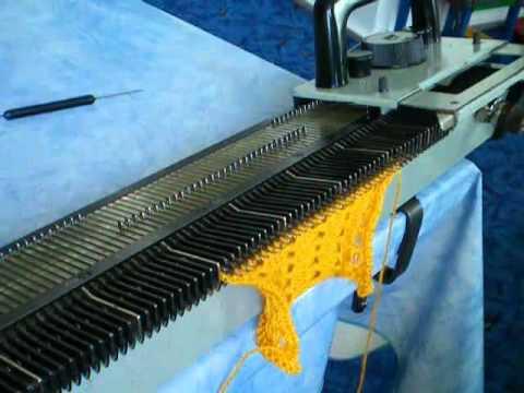 Вязание на машине нива