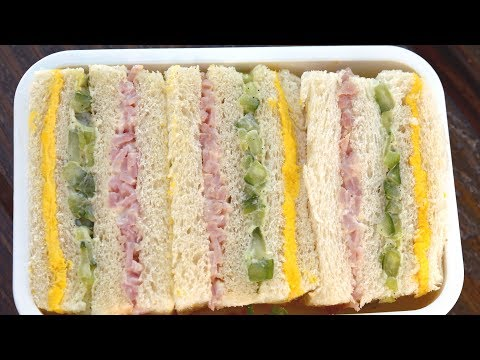 Three color sandwich (Samsaek sandwich : 삼색샌드위치)