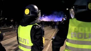 BIF-FCK, kampen udenfor banen. Fodbolduroligheder. Brøndby. FCK.