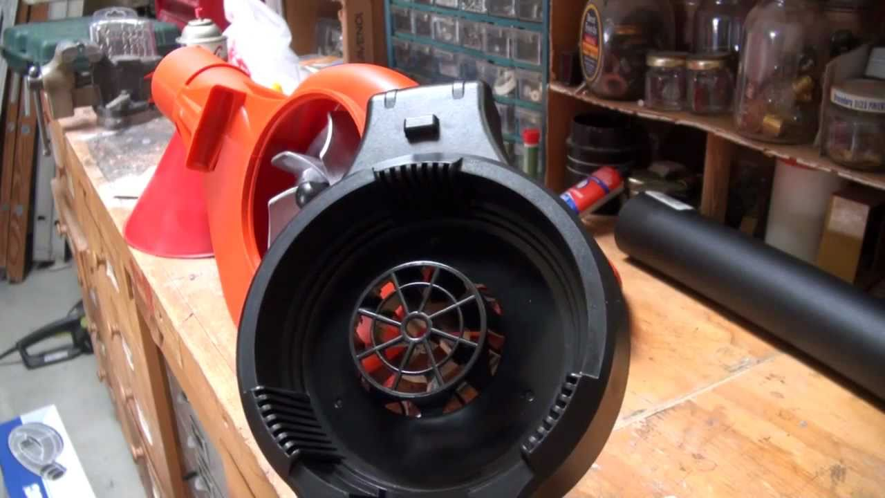 Modify A Black And Decker Leafhog Into An Uber Powerful
