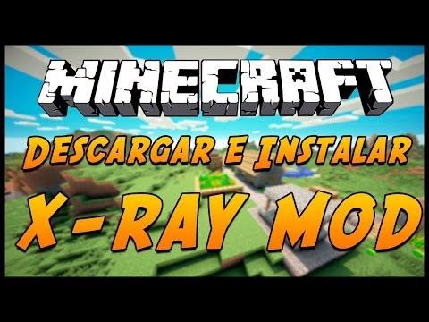 Minecraft 1.8 : Descargar e instalar X-RAY MOD [ ESPAÑOL ]
